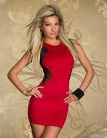Fast delivery! Hot Sale O-Neck Evening Club Dress Party Dress Slim Sexy Dress Vestidos