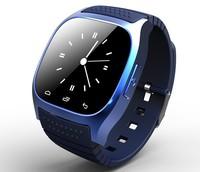 2014 latest M26 fashion waterproof sports phone call speaker bluetooth smart watch 5pcs/lot DHL Wholesale