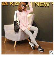 A752 Korean all-match solid significantly thin all-match pencil pants nine pants leg PANTS LEGGINGS wholesale