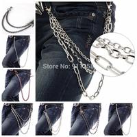 2014  Men Women Fashion Hip-hop Party Metal Belt Chain,Waist Chain,Street Dance Boy Trousers Chain FS3191-FS3198
