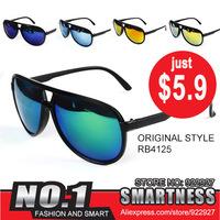 Free shipping 2014 Fashion aviator/pilot Men&Women Sunglasses cycling eyewear outdoor sports Driving Sunglasses UV rb4125