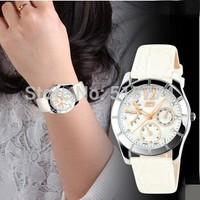 Top Brand Luxury Watch Water Resistant wristwatches genuine leather belt watches