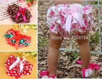 Hot Sale Baby Ruffle Bloomers Newborn  Summer Cute Baby Ruffle Shorts Summer Girl Ruffle Pants Free Shipping