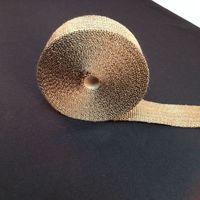 High Temp Titanium Exhaust wrap (include 5 FREE zip ties)