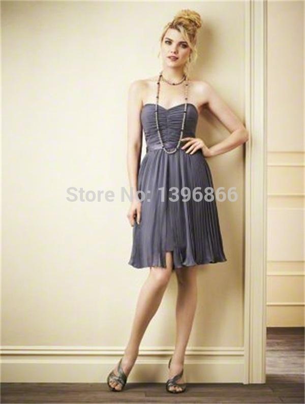 Grey Dresses for Juniors