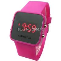 Women LED Digital Watch Relojes De Marca Fashion Ladies Quartz Women Dress Watches LED Wristwatch Relojes Mujer