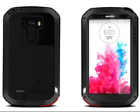 Waterproof Case For LG G3 D850 D851 D855 LS990 Dirtproof Shockproof  Phone Case Corning Gorilla Glass Eight Colors Free Shipping