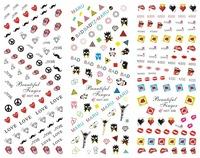 Kawaii Korea / Japanese Pop Art Print Water Transfer Nail Art Sticker Decal HOT series 223-246