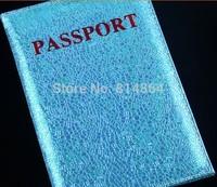 Rainbow rain passport holder PU Leather Passport bag English passport this customized wholesale 2014 gift cover OEM/ODM