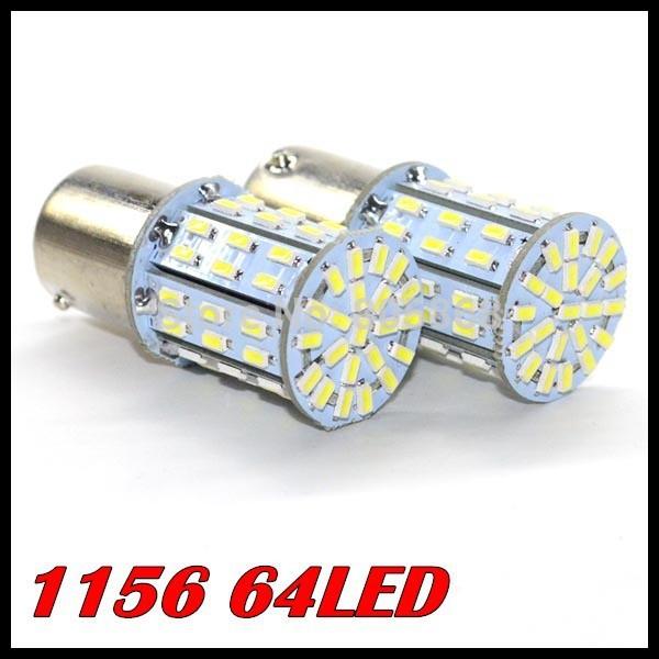 10pcs/lot 1156( ba15s) auto led 3014 smd 64 1156 smd led rückleuchten/blinkleuchte/Ecke glühbirne, superhellen und