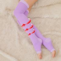 Fashion Shaping socks Hot recommend sleep socks Step foot knee high socks