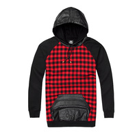 2014 winter hip hop leather cool plaid mens hoodies and sweatshirts diamond supply co men eminem odd future aaliyah tupac hba
