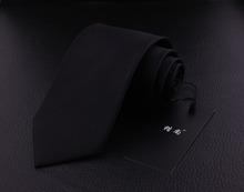 Brand Black Striped Silk Ties Cravate Neckties Corbatas For Mans Gentlemen Formal Busniess Gravatas Masculinas Gifts