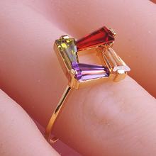 Personalized Designer CZ Diamond Couple Rings Casamento Joias Ouro 18k anel de pedra meus pedidos Christmas Black Friday aneis