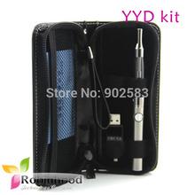 Free DHL Vape pen EVOD battery popular ecigs starter kit new e-cigarette kits CE5 YYD atomizers e cig e case bag 5pcs/lot