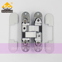 zamak 3D adjustable functional invisible hinge