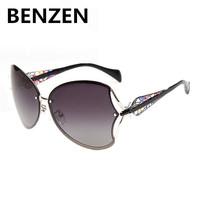2015 Sunglasses Women Polarized  Oculos De Sol Feminino Vintage  Gafas De Sol Double Color  Sun Glasses Female With Case 6023