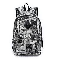 Canvas Camouflage Color Women's Travel Bags Graffiti Women Laptop Backpack Women Sports Bolsas Mochilas Femininas Rucksack