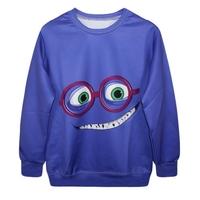new 2015 brand woman/men emoji sweatshirt emoji cotton o neck long sleeve hoodies colors emoji clothes sudaderas mujer