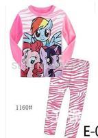 baby girl kids sleepwear suits FROZEN pajama Children  FROZEN Elsa and Anna long sleeve pajamas sets 6pcs/lot