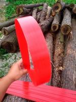 3 pcs/Lot Red 1.5x40x1700m Vinyl Glass Fiber Sheet High Strength Professional Made Toughness Fiberglass DIY Bow Materials