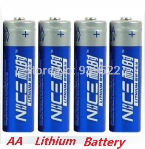 4pcs/lot Brand New NICE SUPER Lithium 1.5V Powerful AA battery li-ion batery Good price and quality.15-year shelf life(China (Mainland))