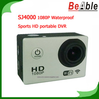 SJ4000 AR0330 Sensor 170 degrees view angle Sunplus 6330 M 1080P Waterproof Camera Sports HD portable DVR