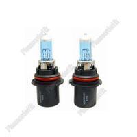 2x Car Headlight Bulb 9004 HB1 Xenon Halogen Super White 6000K 12V 100/80W