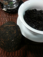 Wholesale Premium old 100g China Yunnan Puer Pu er Pu erh Cooked Riped Tea tuo cha