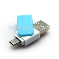 2015 Newest OTG USB flash drive  Real capacity 8GB 16G 64GB external storage USB Pen Drive for Smart Phone tablet PC  300pcs/lot