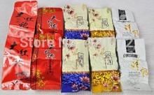 Grade AAAA 50g 5packs Different Chinese tea Tieguanyin Dahongpao Ginseng Jasmine Black Oolong Tea