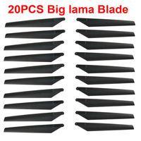 Free shpping!! 20 x Main Blade For ESKY Big Lama Walkera 53#1 53Q 53#Q3