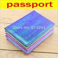 Colorful lizard Russian passport holder PU Leather Passport bag waterproof English PASSPORT passport this customized wholesale