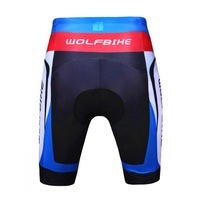 WOLFBIKE Unisex Cycling Shorts 3D Gel Padded Bike/Bicycle ropa ciclismo shorts Outdoor Sports Tight Size M-3XL