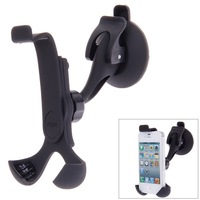 Free shipping hotsale 360 Degree Rotating Car Phone Windshield Sucker Mount Bracket Holder Stand Universal for Phone GPS Tablet
