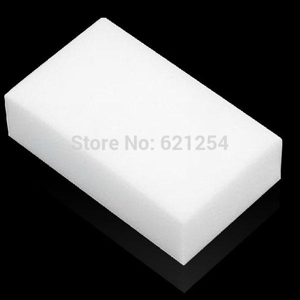 300pcs White Magic Melamine Cleaner Eraser Sponge Size 10x6x1cm Kitchen Desk Table Car Helper(China (Mainland))