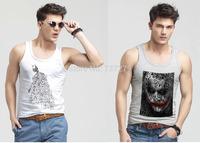 Superman Tank Tops Men Sleeveless Vests Casual Clothing Man Singlet Sportswear
