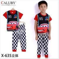 pajama clothes set fashion summer olaf cartoon solid cotton kids baby boys girls children pajamas clothing sets X-635