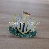 newcastle athletic club kids football souvenirs High quality Healthy Metal england premier league Pin  newcastle Football