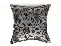man made silk high quality invisible zipper printing sofa decor cushion cover/pillow cover 45*45cmzara home