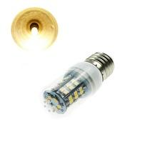 Super Bright E27 4w SMD 3528 led bulb Warm White 3000-3500K 48 pcs LEDs Spot Corn Light Lamp With Cover AC 110V(China (Mainland))