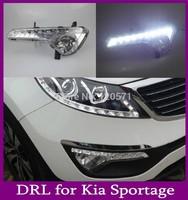Super Bright LED Daytime Running Light For  Kia Sportage DRL Daylight Auto DRL Car Fog Lamp