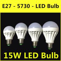 2014 The Latest Ultrabright LED Lamp E27 3W 5W 7W 9W 12W 15W AC 220V-240V Warm White/White Bulb Christmas Lights Free Shipping