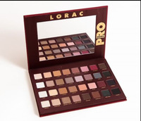 FREE HKPOST(12pcs/lot) Factory Price!2015 new brand lorac mega pro 32 color make up eyeshadow palette full in stock now !
