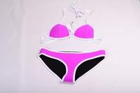 2015 hot selling NEOPRENE BIKINI Superfly Swimsuit Neoprene bikinis one set include top and bottom 406