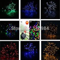 Holiday Light 12meter 100-LED Solar LED Fairy Light String Christimas Party Wedding Garden Decor Xmas