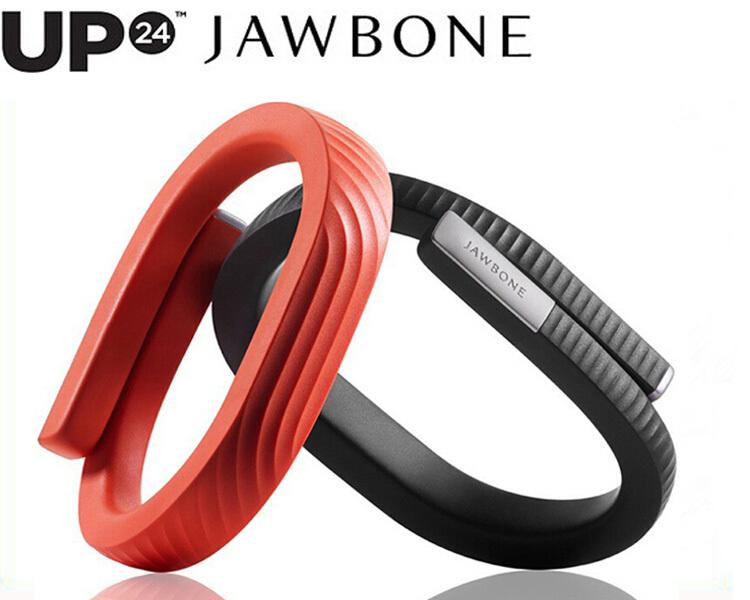 100% is UP24 JAWBONE Activity Tracker UP 24 WIRELESS BLUETOOTH WRISTBAND for iphone samsung HTC huawei LG Sony Motorola(