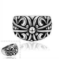 Free shipping! 2015 Newest mens vintage ring, Fashion cool unique designer big rings USR627