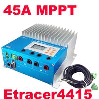 45A ET4415N 48V MPPT solar charge controller eTracer MPPT Solar Panel Battery Charge Controller 150V 45A mppt controller 45 amps