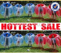 10 pcs 1.5M Bubble Football Body Zorbing Free shipping (5Blue dot + 5yellow dot )